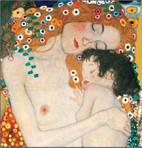 Obrazová reprodukce  Tři věky ženy, 1905