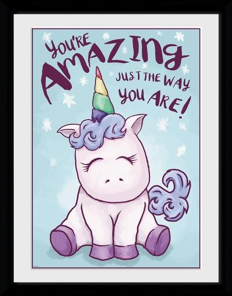Unicorn - Amazing Zarámovaný plagát