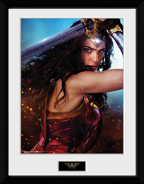 Wonder Woman - Defend zarámovaný plakát
