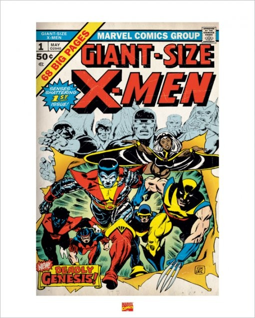 Obrazová reprodukce  X-Men