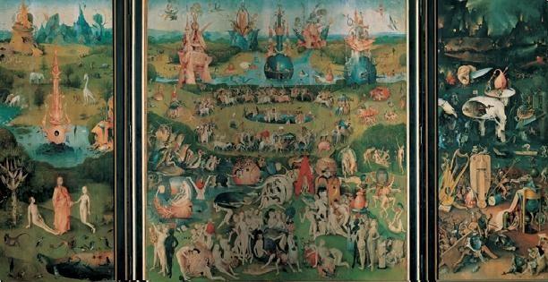 Obrazová reprodukce Zahrada pozemských rozkoší, 1503-04