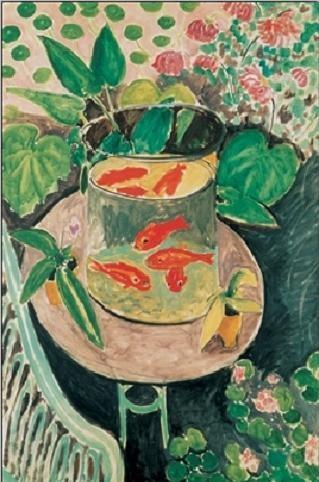 Obrazová reprodukce  Zlaté rybky, 1912