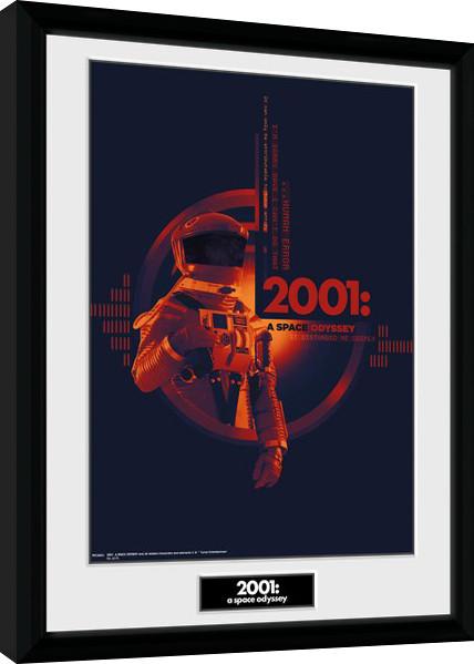 Zarámovaný plakát 2001 A Space Odyssey - Graphic
