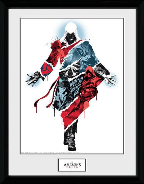 Zarámovaný plakát Assassins Creed - Compilation 2