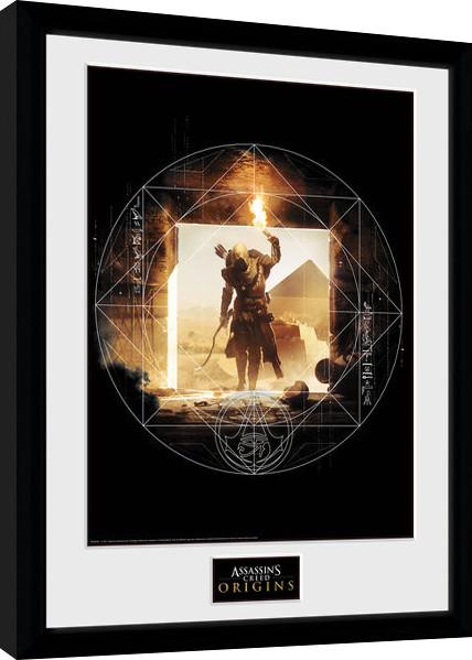 Zarámovaný plakát Assassins Creed: Origins - Wanderer