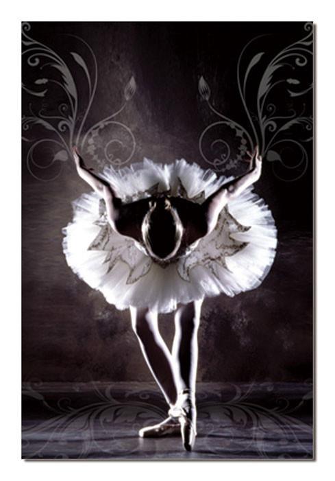 Obraz Baletka v černobílé