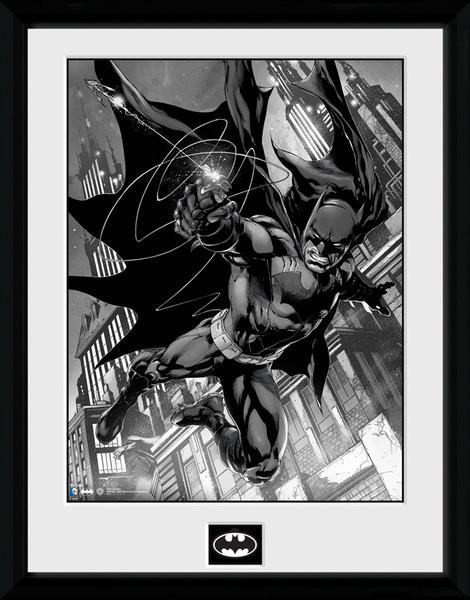 Zarámovaný plakát Batman Comic - Hook