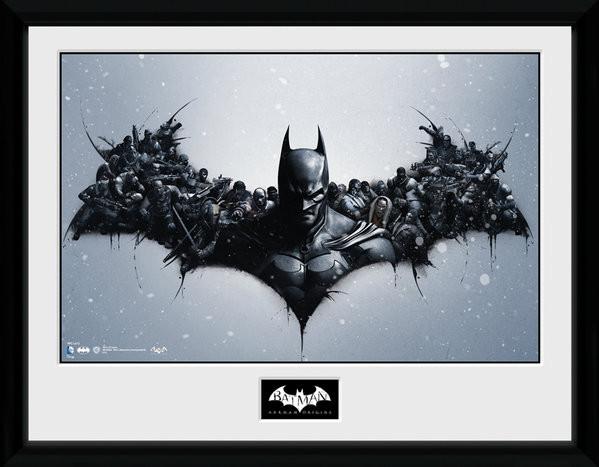 Zarámovaný plakát Batman Comic - Origins