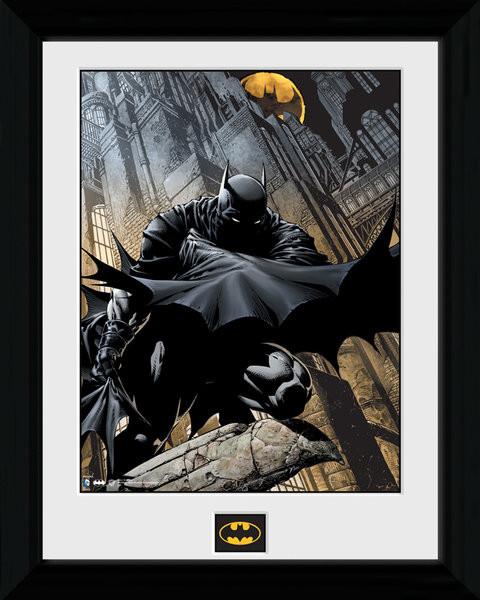 Zarámovaný plakát Batman Comic - Stalker