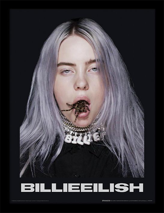 Zarámovaný plakát Billie Eilish -  Spider