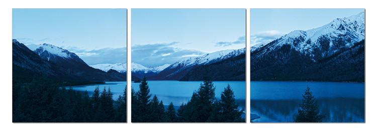 Obraz Brzké ráno na jezeře