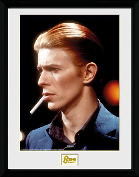 Zarámovaný plakát David Bowie - Smoke