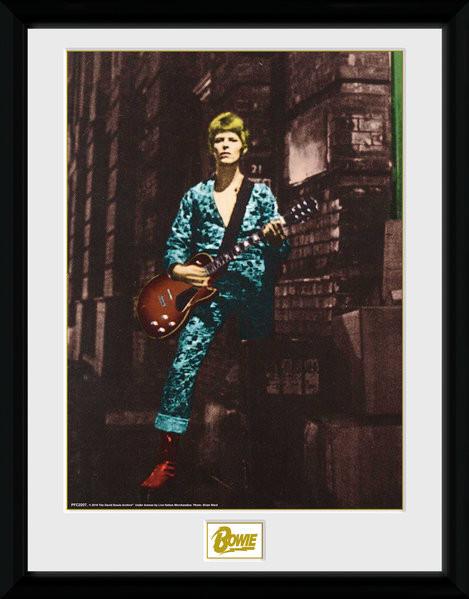 Zarámovaný plakát David Bowie - Street