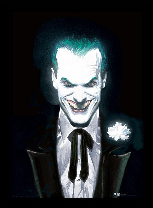 Zarámovaný plakát DC Comics - Joker Suited