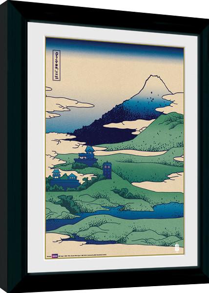 Zarámovaný plakát Doctor Who - Japan