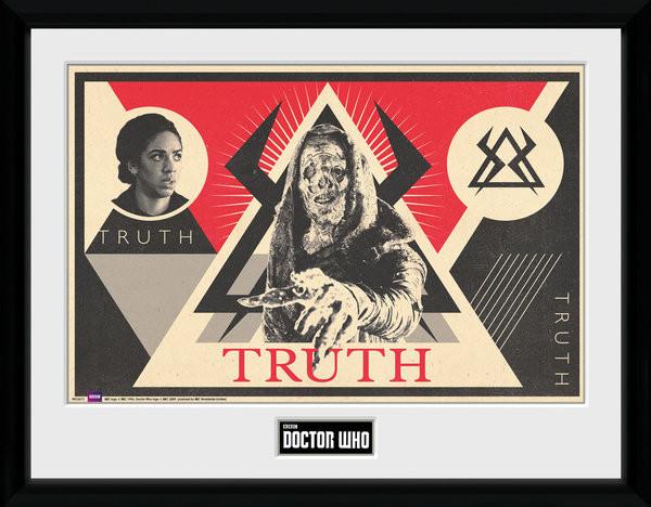 Zarámovaný plakát Doctor Who - Monk