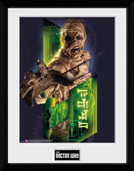 Zarámovaný plakát Doctor Who - Mummy