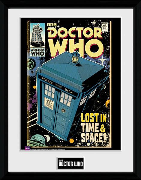 Zarámovaný plakát Doctor Who - Tarids Comic