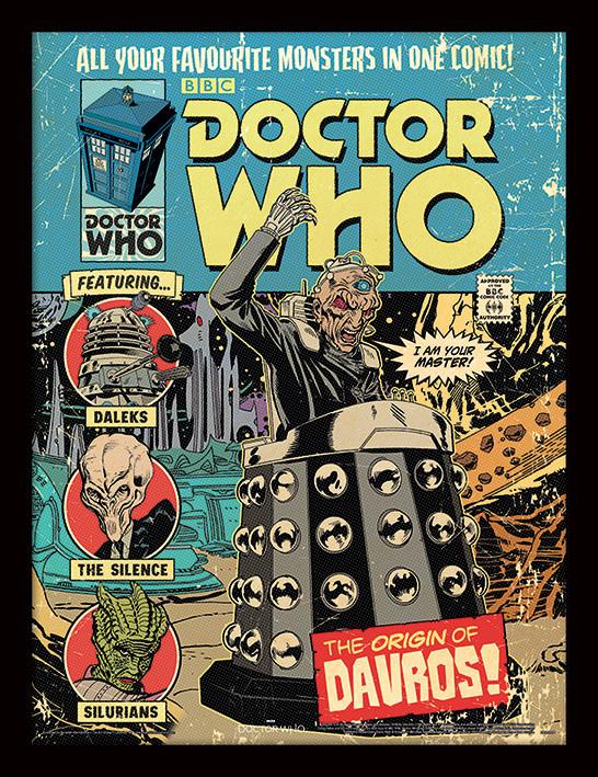 Zarámovaný plakát Doctor Who - The Origin of Davros