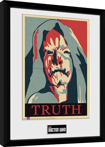 Zarámovaný plakát Doctor Who - Truth