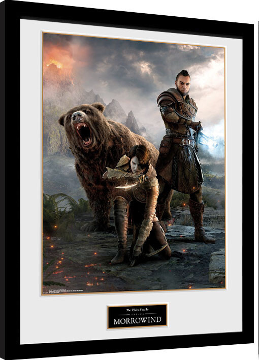 Zarámovaný plakát Elder Scrolls Online: Morrowind - Trio