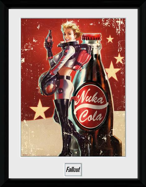 Zarámovaný plakát Fallout 4 - Nuka Cola