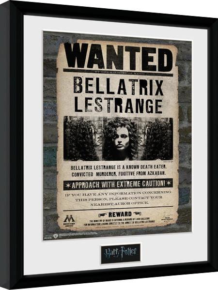 Zarámovaný plakát Harry Potter - Bellatrix