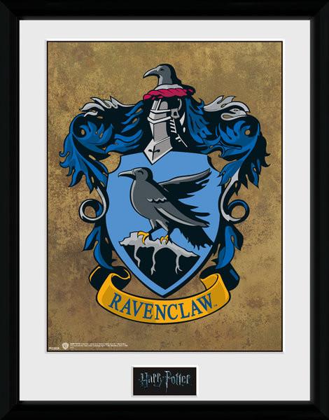 Zarámovaný plakát Harry Potter - Havraspár