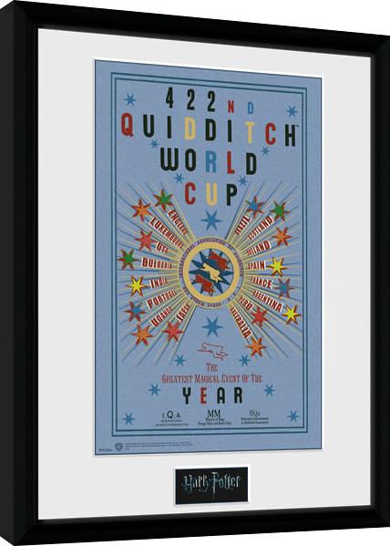 Zarámovaný plakát Harry Potter - Quidditch World Cup 2