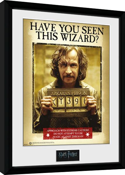 Zarámovaný plakát Harry Potter - Sirius Azkaban