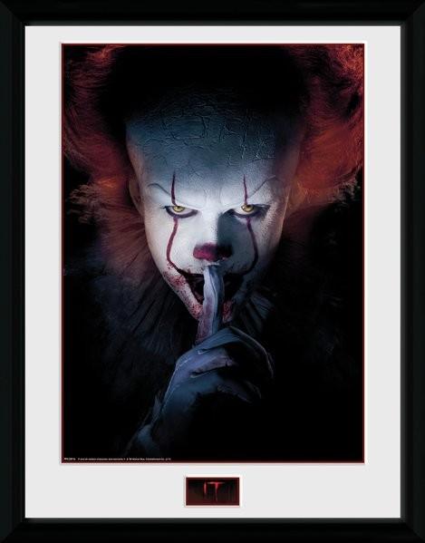Zarámovaný plakát IT - Finger