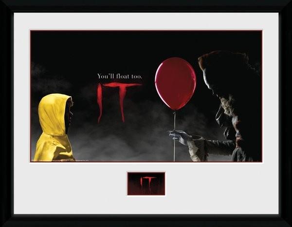 Zarámovaný plakát IT - Float