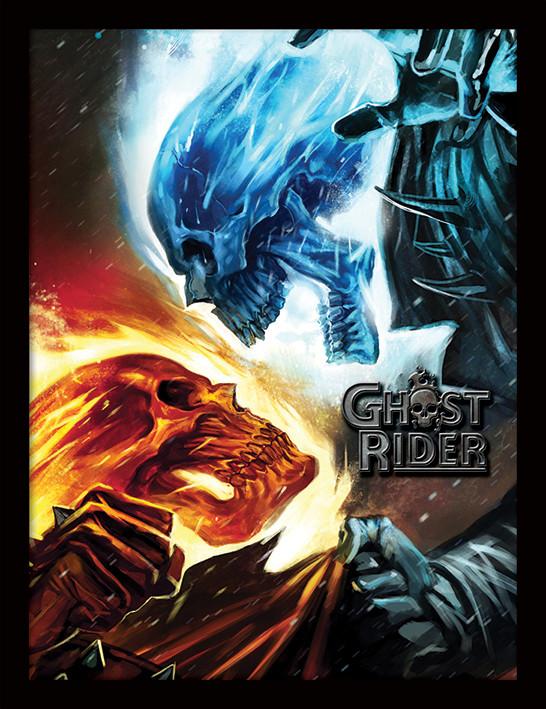 Zarámovaný plakát Marvel Extreme - Ghost Rider