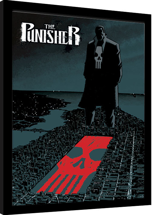 Zarámovaný plakát Marvel Extreme - Punisher