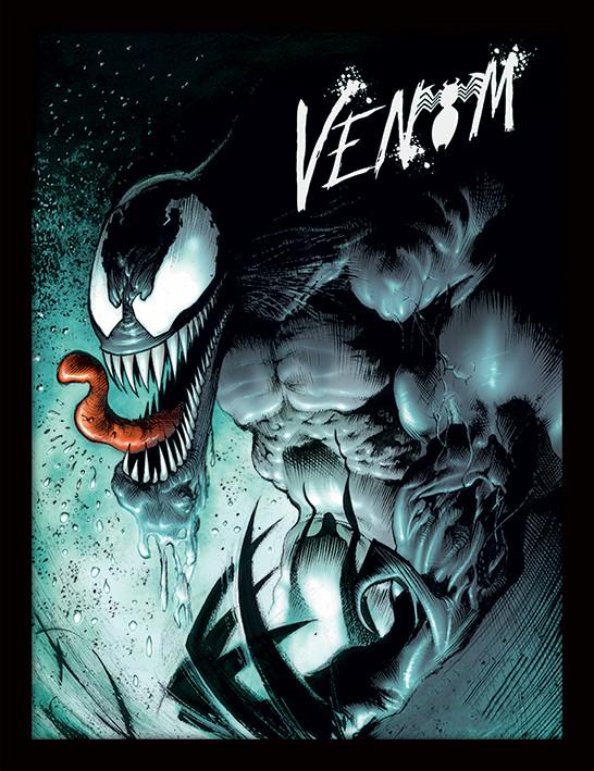 Zarámovaný plakát Marvel Extreme - Venom