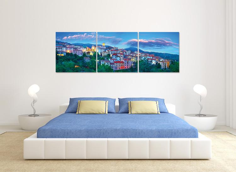 Obraz Modrá obloha nad městem