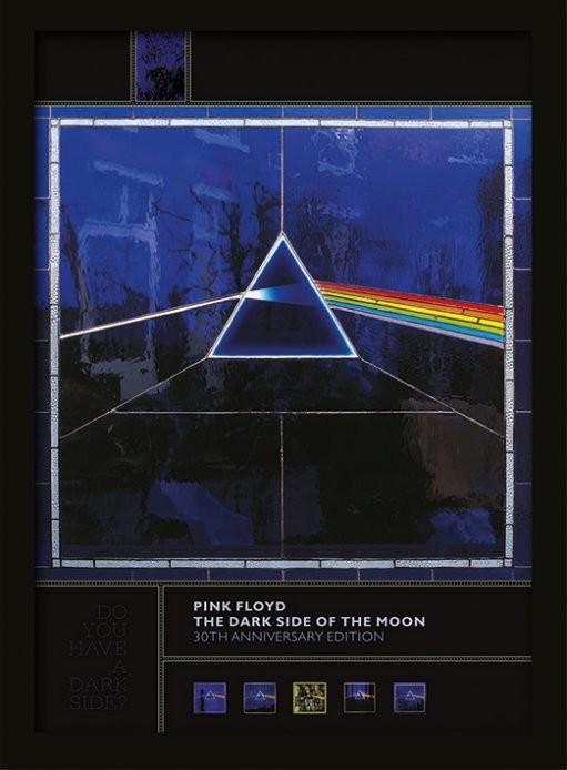 Oprawiony plakat Pink Floyd - Dark Side of the Moon (30th Anniversary)
