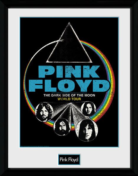 Zarámovaný plakát Pink Floyd - Dsom World Tour