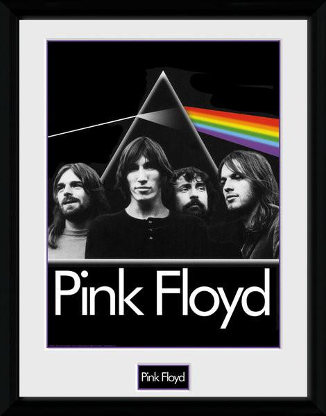 Zarámovaný plakát Pink Floyd - Prism
