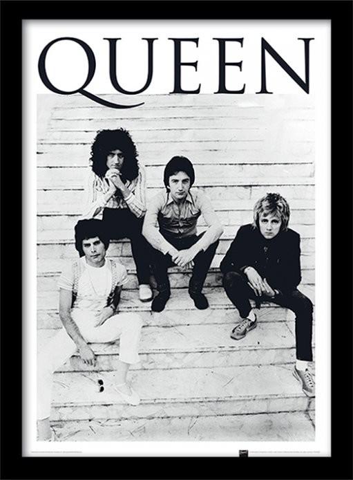 Oprawiony plakat Queen - Brazil 1981