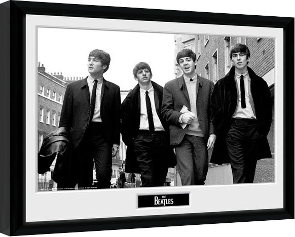 Oprawiony plakat The Beatles - In London