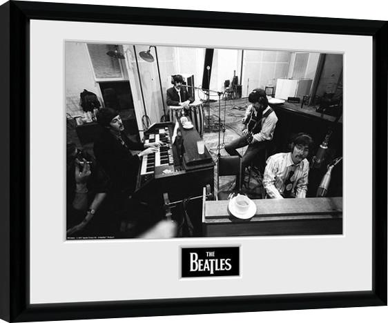 Zarámovaný plakát The Beatles - Studio