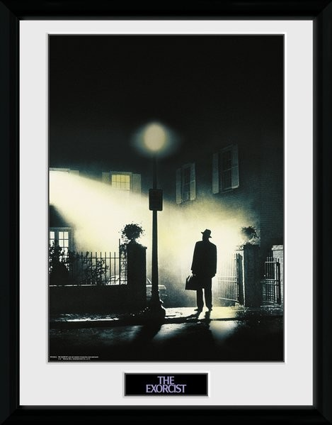 Zarámovaný plakát The Exorcist - Key Art