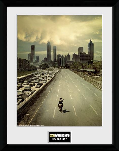 Zarámovaný plakát The Walking Dead - Season 1