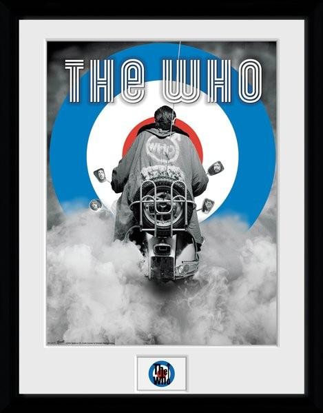 Zarámovaný plakát The Who - Quadrophenia