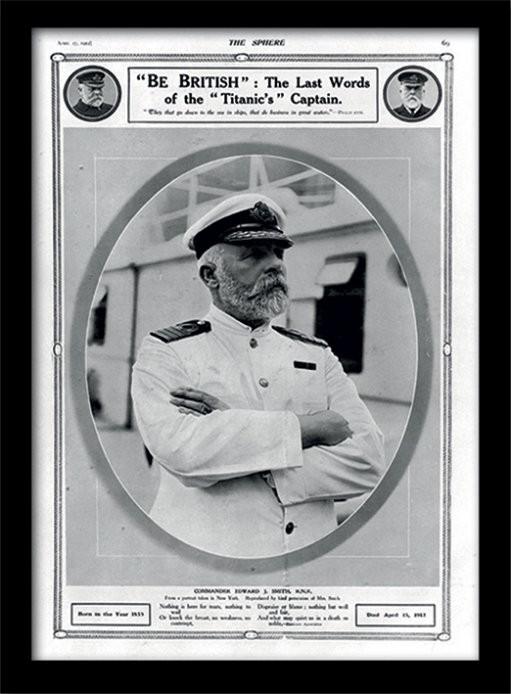 Zarámovaný plakát Titanic (5)
