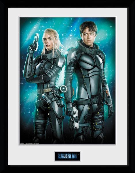 Zarámovaný plakát Valerian a město tisíce planet - Duo