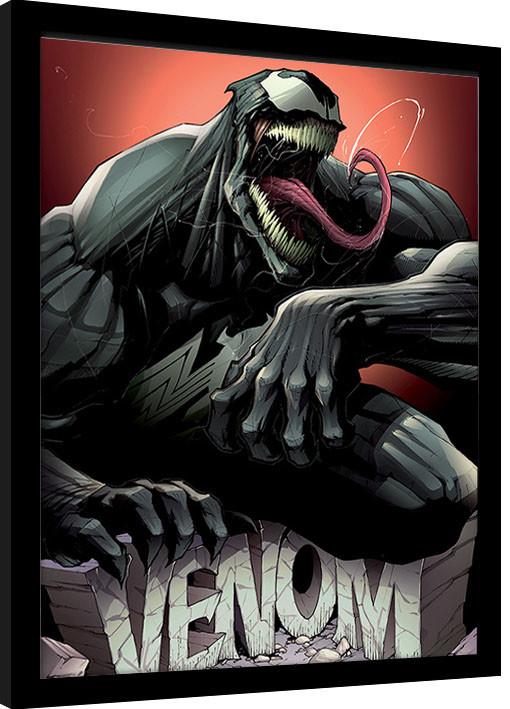 Zarámovaný plakát Venom - Rock