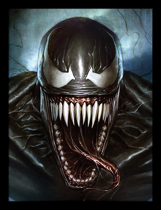 Zarámovaný plakát Venom - Sinister Smile