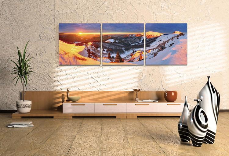 Obraz Zlaté slunce nad horami